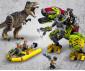 Конструктор ЛЕГО Jurassic World 75938 - Битка между тиранозавър и динозавър-робот thumb 14