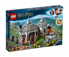 Конструктор ЛЕГО Harry Potter 75947 - Колибата на Hagrid: Спасението на Buckbeak