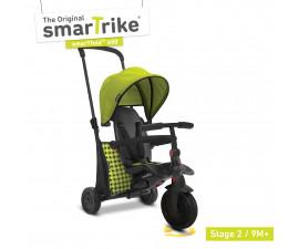 детска сгъваема триколка с родителски контрол smartFold 400, зелена 5000811