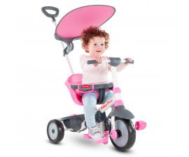 детска триколка с родителски контрол Fisher Price, розова 3250233