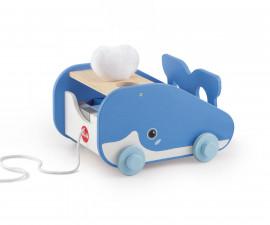 Sevi 88021 - Детска дървена играчка за дърпане Кит