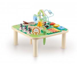 Sevi 88020 - Детска дървена играчка Мултиактивна масичка