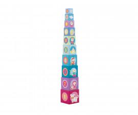 Sevi 83075 - Детска дървена играчка Кубчета приказка