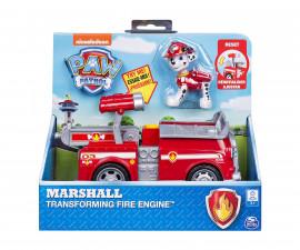 Детска играчка на тема Пес Патрул - Трансформираща се пожарна кола на Маршал