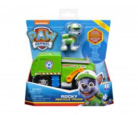 Детска играчка на тема Пес Патрул - Кученце с основно превозно средство, асортимент