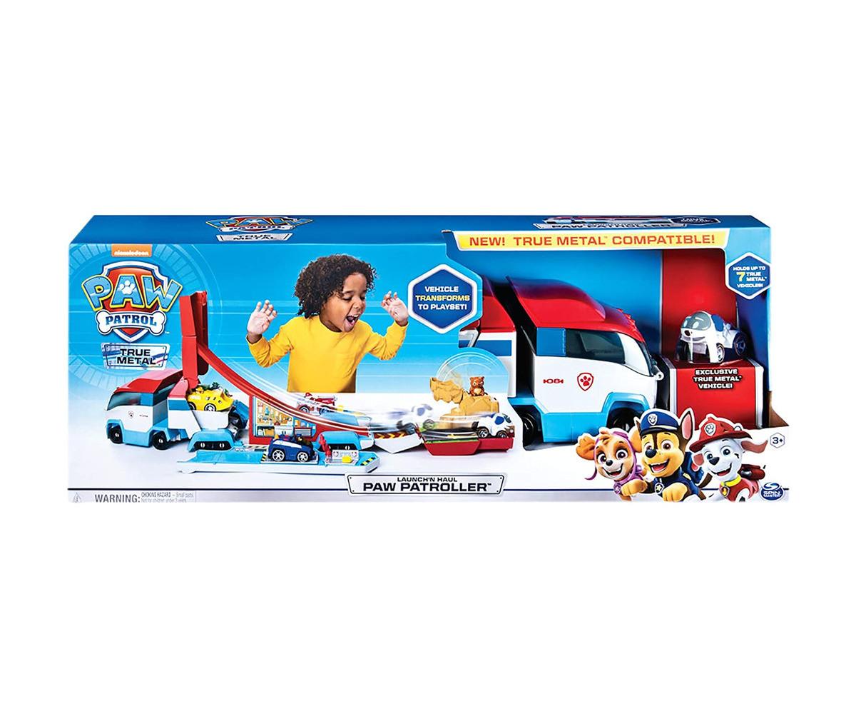 Детска играчка на тема Пес Патрул - Изстреляй и тегли с Детска играчка на тема Пес Патрулер