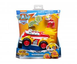 Детска играчка на тема Пес Патрул - Маршал с превозно средство делукс