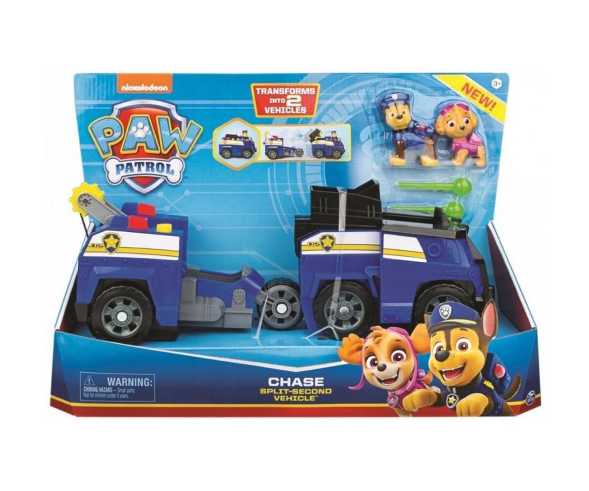 Детска играчка на тема Пес Патрул - Превозно средство 2 в 1
