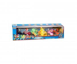 Детска играчка на тема Пес Патрул - Комплект от 6 автомобила