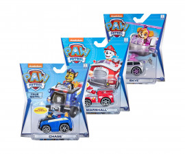 Пес Патрул играчки - Метални превозни средства, асортимент