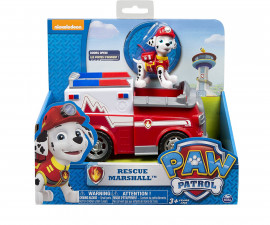 Пес Патрул играчки - Маршал с пожарна кола