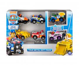 Пес Патрул играчки - Комплект метални колички