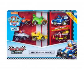 Пес Патрул играчки - Комплект състезателни колички
