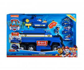 Пес Патрул играчки - Комплект превозни средства на Чейс 5в1