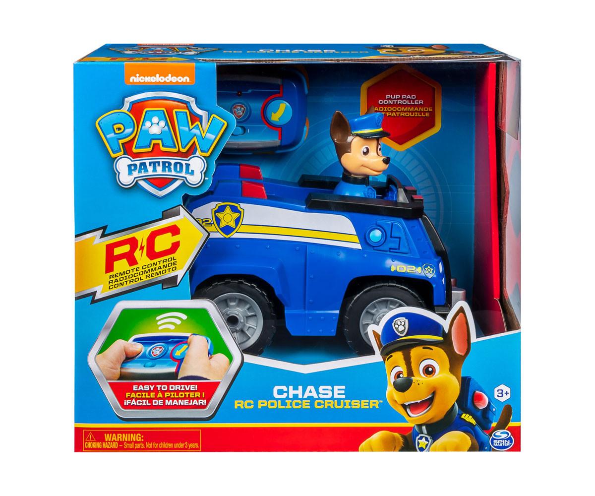 Пес Патрул играчки - Полицейската кола на Чейс с дистанционно