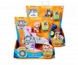 Играчка за деца Пес Патрул - Превозно средство с кученце и динозавър изненада, асортимент Spin Master 6056930