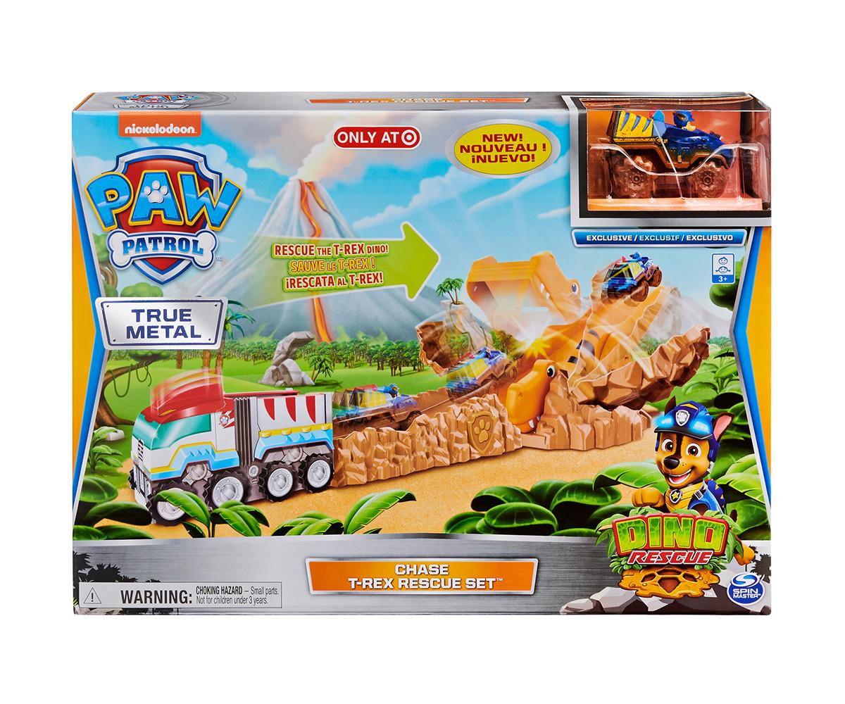 Играчка за деца Пес Патрул - Комплект T-Rex Спасителна акция Spin Master 6058323