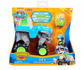 Играчка за деца Пес Патрул - Превозно стедство Rex Deluxe 6059329
