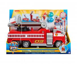 Играчка за деца Пес Патрул - Трансформиращ се градски камион на Маршал 6060444