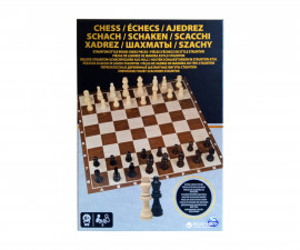 Дървен шах за деца