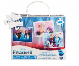 3D пъзел за деца 3х48 ел. Frozen 2
