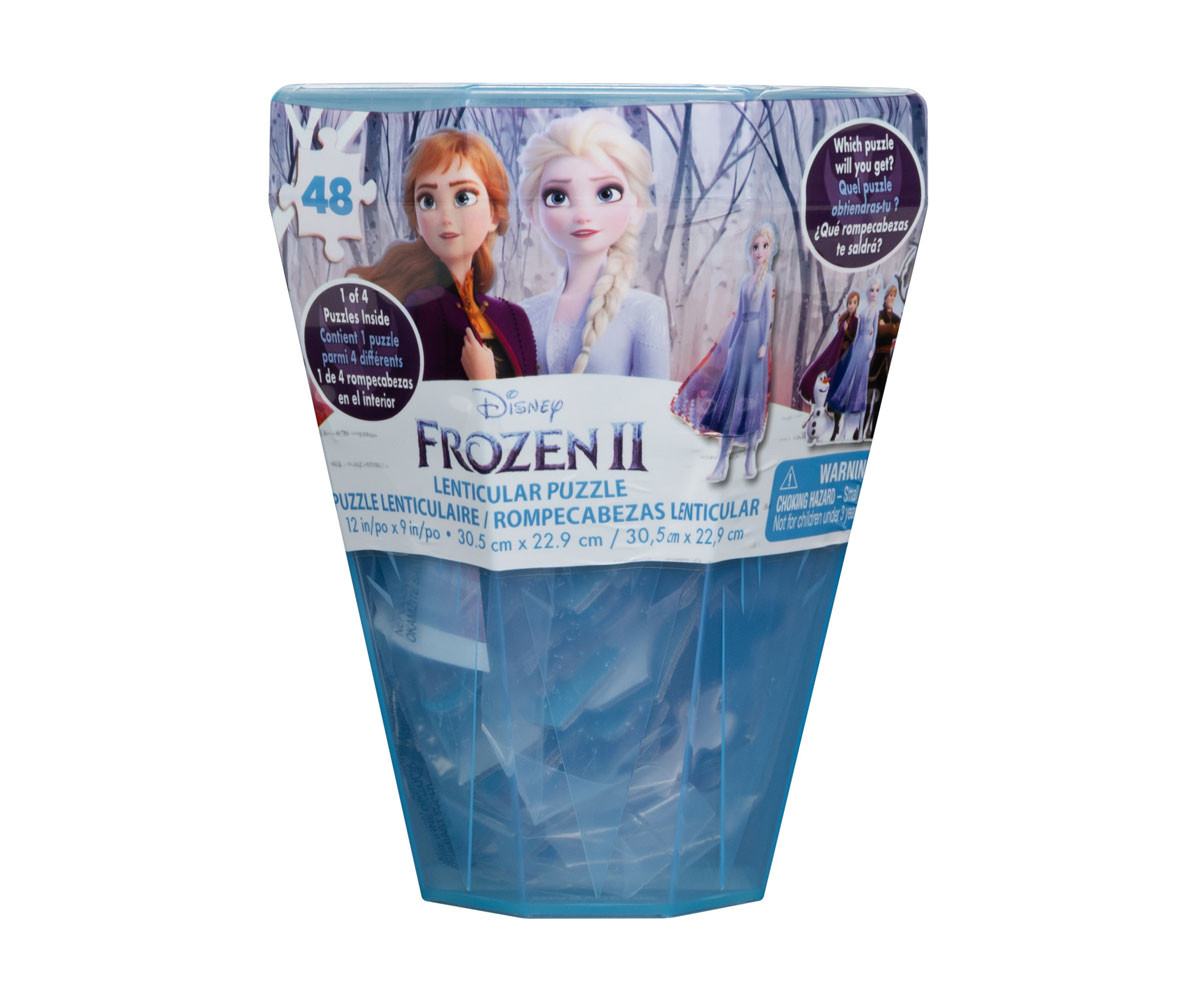 Frozen 2 - Релефен пъзел 48 ел.