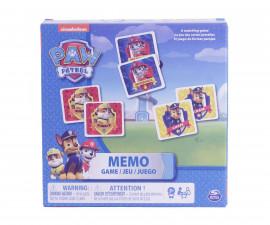 Играчка за деца Пес Патрул - Мемори, 48 карти Spin Master 6033326