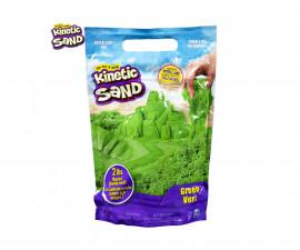 Детска играчка с несъхнещ пясък Kinetic Sand - Пликче, зелен цвят
