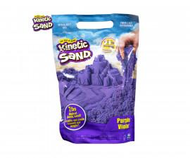 Детска играчка с несъхнещ пясък Kinetic Sand - Пликче, лилав цвят