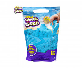 Детска играчка с несъхнещ пясък Kinetic Sand - Пликче, син цвят