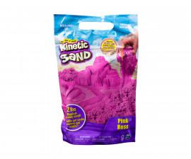 Детски несъхнещ кинетичен пясък за игра Магически пясък, розов