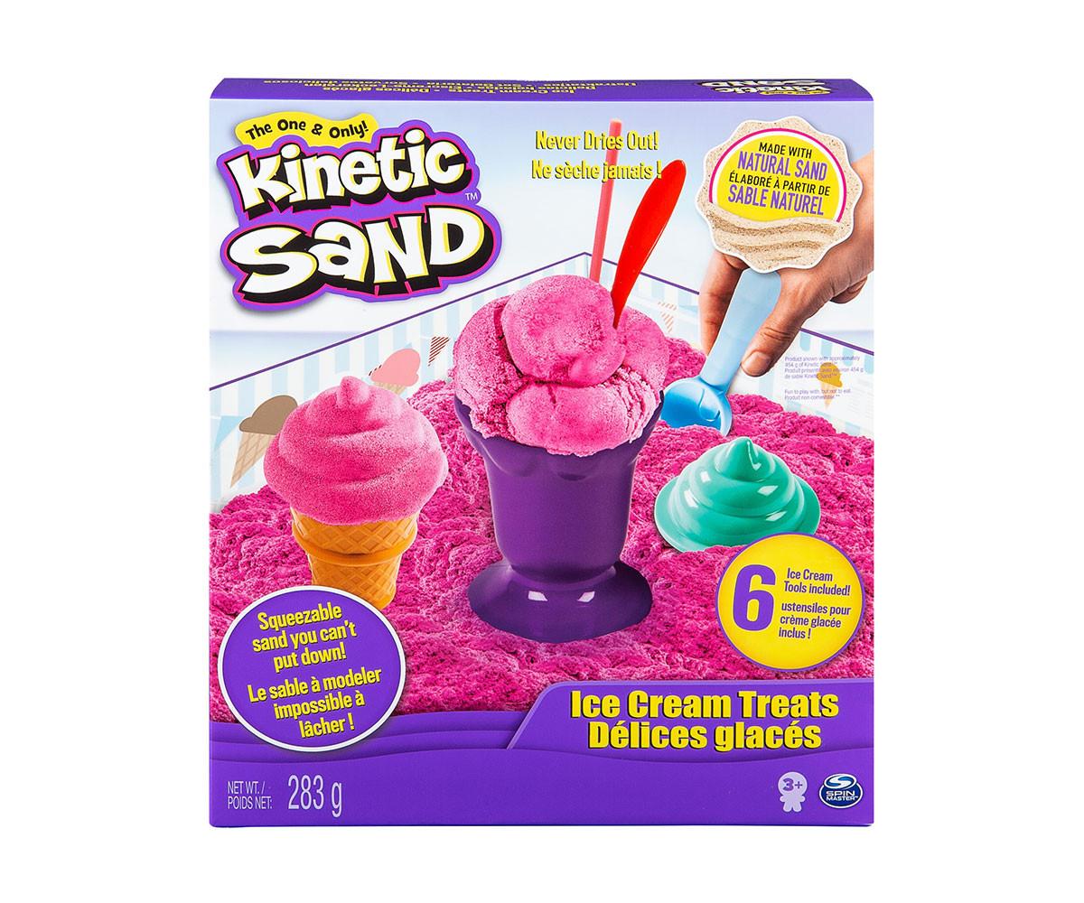 Детски несъхнещ кинетичен пясък за игра Сладолед