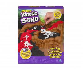 Детски несъхнещ кинетичен пясък за игра Разкопки на динозаври