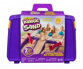 Детски несъхнещ кинетичен пясък за игра сгъваем пясъчник