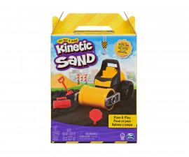 Детски несъхнещ кинетичен пясък за игра Асфалтирай и играй