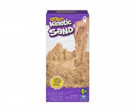 Детски несъхнещ кинетичен пясък за игра Кутия, кафяв цвят 1кг