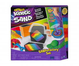 Детски несъхнещ кинетичен пясък за игра Kinetic Sand - Пясъчна фабрика 6061654