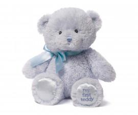 Мека плюшена играчка за новородени бебета - Синьо мече, 25см 6055511
