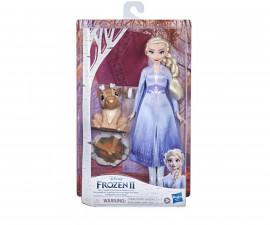 Комплект с кукли Frozen 2 - Приятелите на Елза край огъня F1582
