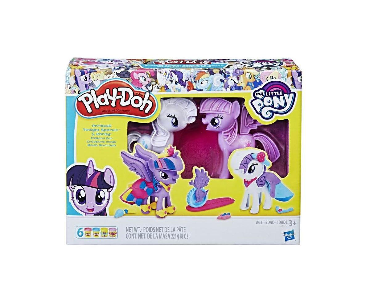Детска играчка за моделиране - Play Doh - Парти с Малкото пони