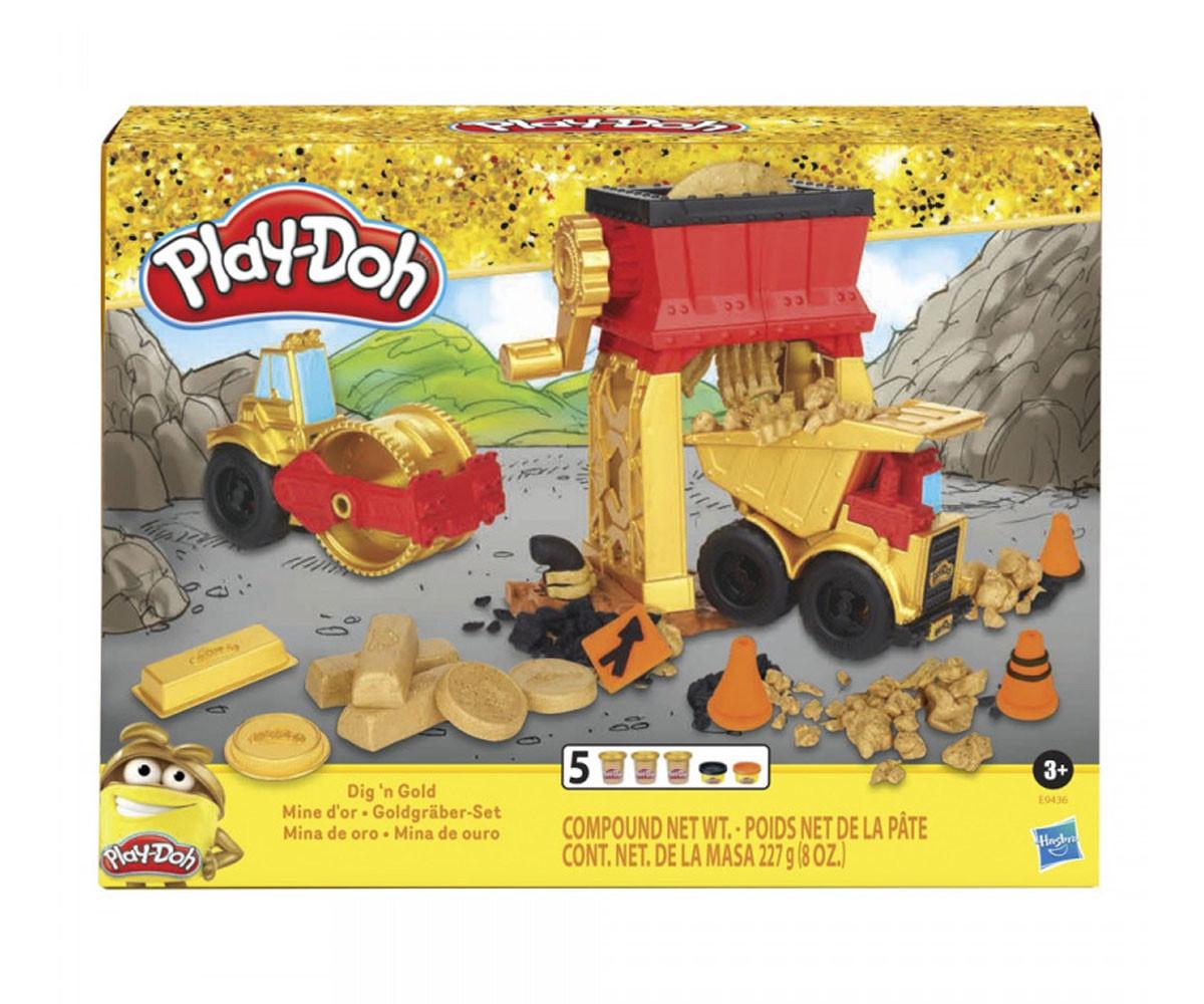Детски комплект Плей До копач на злато Hasbro E9436