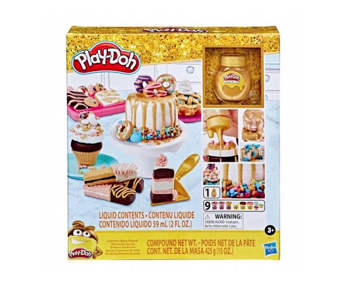 Детски комплект Плей До златна сладкарница Hasbro E9437