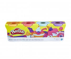 Детска играчка за моделиране Hasbro E4869 Play Doh - 4 бонбонени цветове
