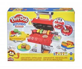 Детска играчка за моделиране Hasbro F0652 Play Doh - Игрален компект: барбекю