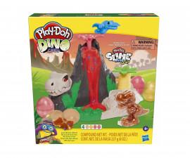 Детска играчка за моделиране Hasbro F1500 Play Doh - Вулкан на остров от кости