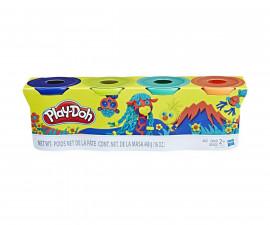 Детска играчка за моделиране Hasbro E4867 Play Doh - 4 диви цветове