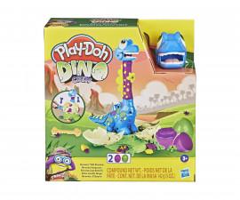 Детска играчка за моделиране Hasbro F1503 Play Doh - Комплект бебе Бронтозавър с растящ врат