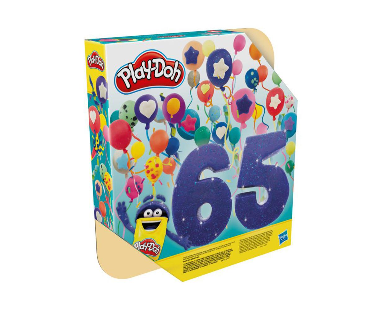 Детска играчка за моделиране Hasbro F1528 Play Doh - Празничен комплект 65 кенчета, различни цветове