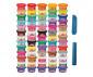 Детска играчка за моделиране Hasbro F1528 Play Doh - Празничен комплект 65 кенчета, различни цветове thumb 4