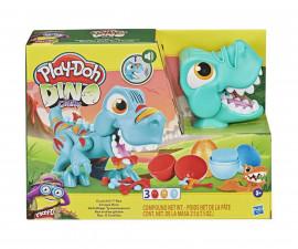 Детска играчка за моделиране Hasbro F1504 Play Doh - Комплект Т-Rex със звуци